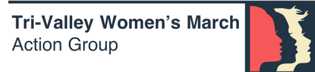 Tri-Valley Women's March Action Group Logo
